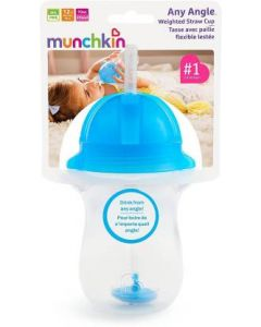 Munchkin Any Angle Weighted Straw Cup 10oz/296ml