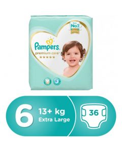 Pampers Premium Care Diapers Size-6