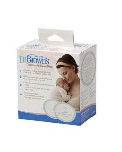 Dr Browns Oval Disposable Breast Pads (Pack of 30)