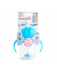 Munchkin  Any Angle Weighted Straw Trainer Cup 7oz/207ml