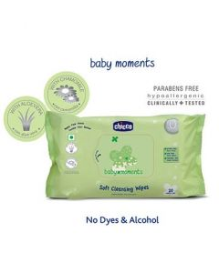 Chicco Baby Moments Soft Cleansing Wipes