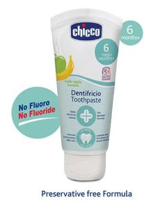 Chicco Dentifricio Toothpaste Apple and Banana Flavour 50 ml