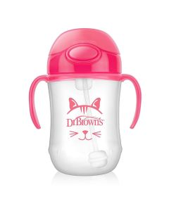 Dr Browns 9 oz/270ml Baby's First Straw cup (6m+)