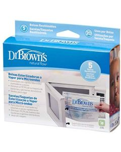 Dr Browns Microwave Steam Sterilizer Bags