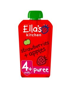 Ella's Kitchen Organic Strawberries and Apples Baby Pouch 4m+