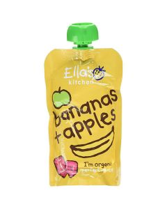 Ella's Kitchen Pouch Apples And Bananas 4m+