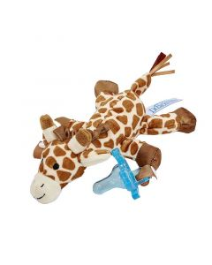 Dr Browns Giraffe Lovey with Blue One-Piece Pacifier