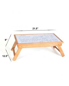 Pinkbunny Study Table Steam Beech Wood Natural Wood Look 002