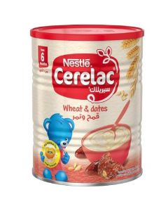Nestle CERELAC Wheat and Date with Milk Infant Cereal 400g (6m+)