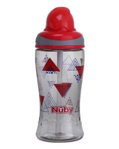 Nuby Flip It Active Boost Thin Straw Sipper 360ml