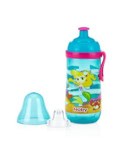 Nuby Stage 2 Busy Sipper Cup with Silicon Pop-up Spout 360ml