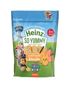 Heinz Eat & Play Peach & Apricot Biscuits Paw Patrol 140g
