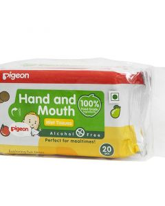 Pigeon Hand and Mouth Wipes 2 In 1