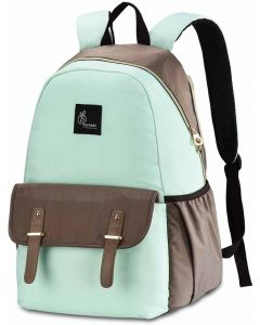 R for Rabbit Caramello Elite Back Pack Diaper Bag - Smart and Waterpoof Mother Bag Green Brown