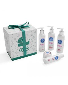 The Mom's Co Baby Complete Care Ribbon Gift Box