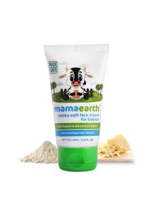 Mamaearth Milky Soft Face Cream for Babies 60ml