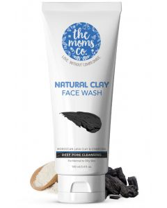 The Moms Co Natural Clay Face Wash 100ml